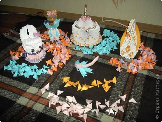 Оригами модульное: Оригамушки фото 1