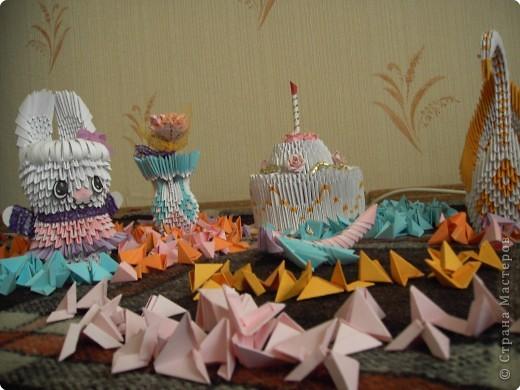 Оригами модульное: Оригамушки фото 2
