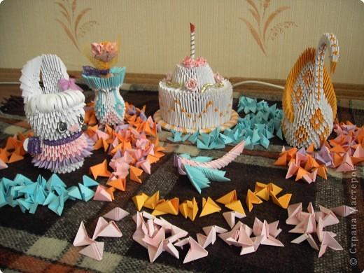 Оригами модульное: Оригамушки фото 3
