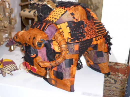 Новогодняя выставка (год быка) фото 5