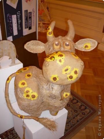 Новогодняя выставка (год быка) фото 1