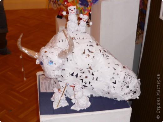 Новогодняя выставка (год быка) фото 10