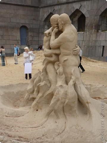 Международный фестиваль на пляже Петропавловской крепости в Санкт-Петербурге. 2009 год фото 12