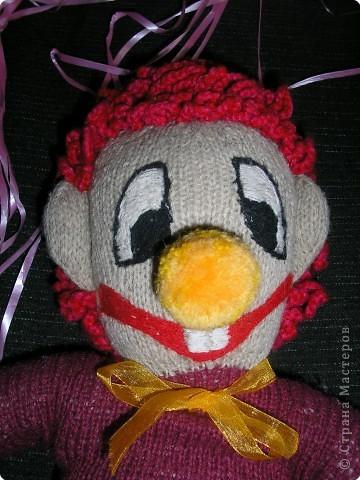 Игрушка мягкая: Клоун фото 2
