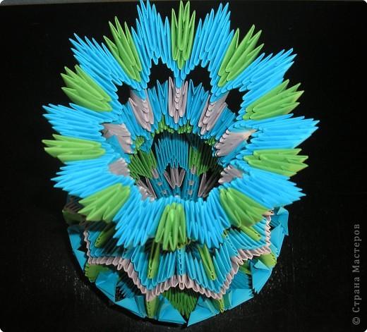 Оригами модульное: ваза фото 4