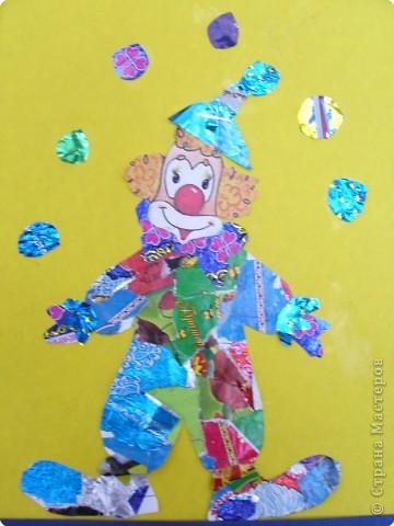 Мозаика: Клоун фото 1