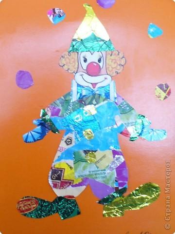 Мозаика: Клоун фото 3