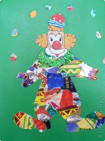 Мозаика: Клоун фото 2