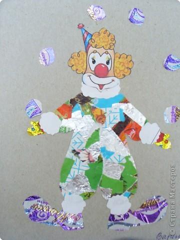 Мозаика: Клоун фото 4