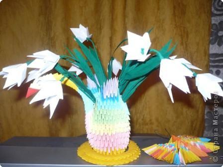 Оригами модульное: Весна идет-весне дорогу!