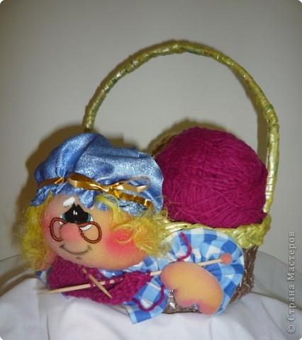 Корзинка для бабушки. фото 3