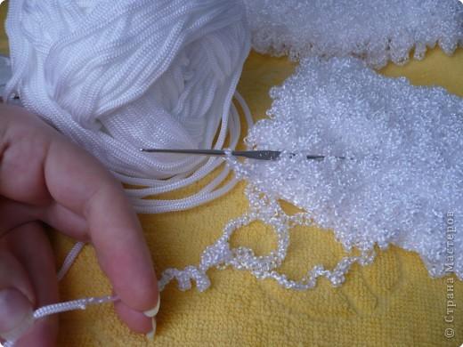 Вязание из синтетических ниток