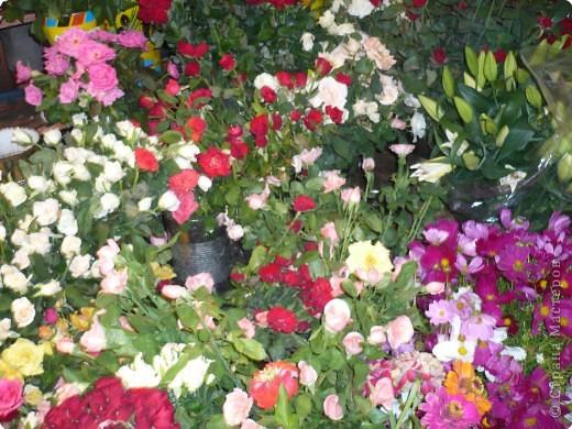 Ура!!!!  Я снова с Вами в эфире  \после маленькой паузы-отпуска \ и не с пустыми руками, а с букетом мароканских цветов для Вас , мои много уважаемые жители Страны Мастеров!!!  фото 1