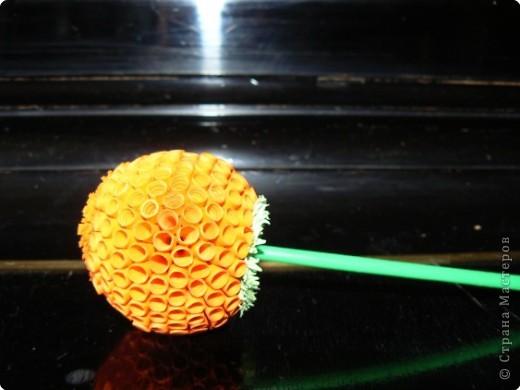 Квиллинг: Цветок. фото 2