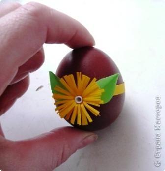 Украшение пасхальных яиц фото 2