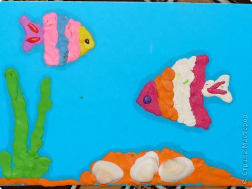 Раннее развитие Лепка Рыбки
