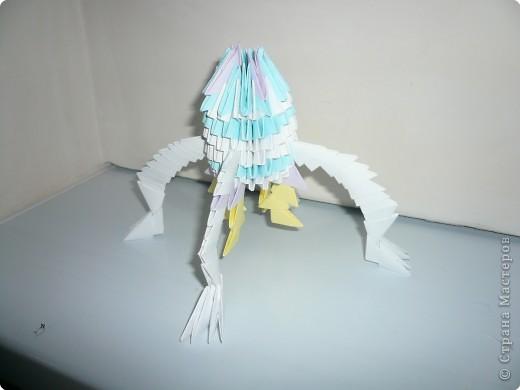 Ракета Оригами модульное.