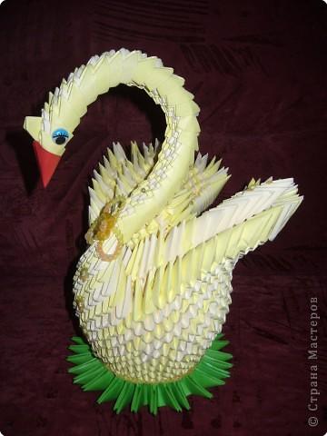 Оригами модульное: Пара лебедей!!! фото 2