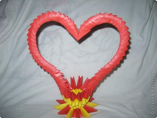 Оригами модульное: Пара лебедей!!! фото 5