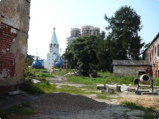 Свято-Успенская Флорищева пустынь восстанавливается. фото 1