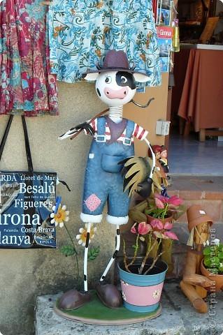 Этого Молодца я увидела перед входом в сувенирный магазинчик. фото 1
