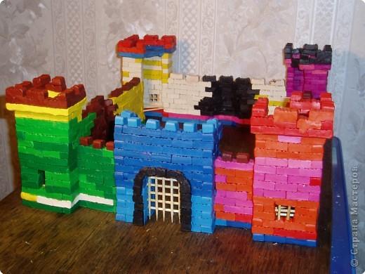Замок из пластилина за 10 дней)))) фото 1