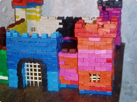 Замок из пластилина за 10 дней)))) фото 2