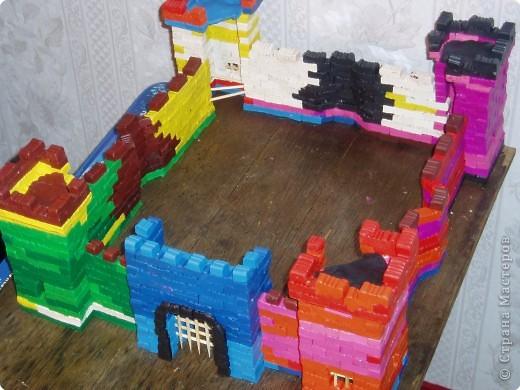 Замок из пластилина за 10 дней)))) фото 3