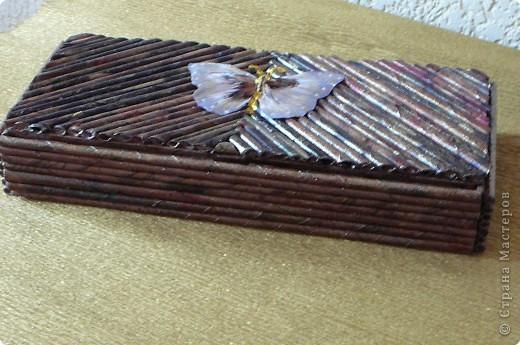 Плетение: Поделки из газетных трубочек. фото 5