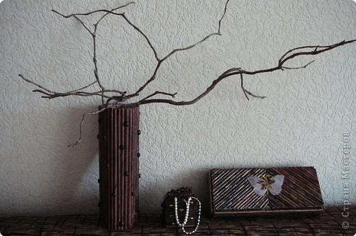 Плетение: Поделки из газетных трубочек. фото 1