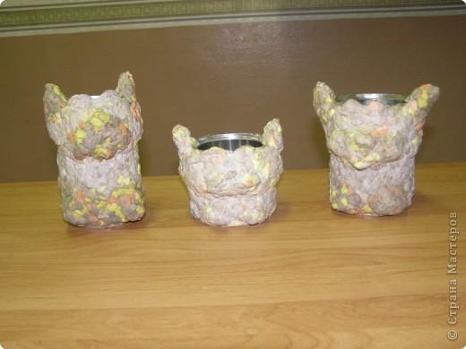 Папье-маше: Котёнок фото 2