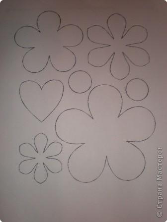 Шаблоны для цветов фото 1