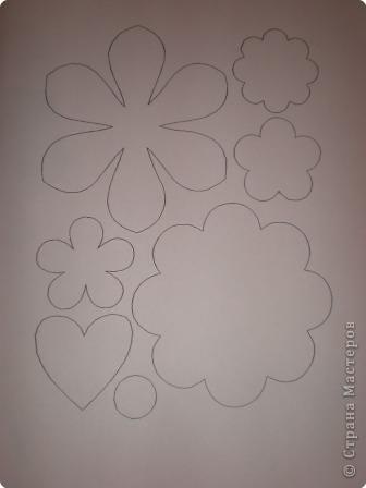 Шаблоны для цветов фото 3