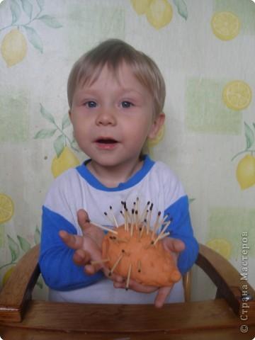 Мои сынок тоже уже умеет создавать шедевры фото 1