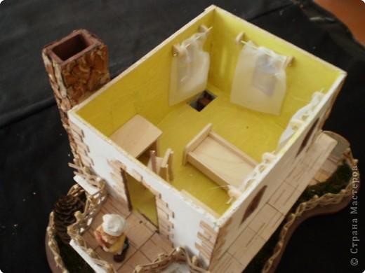 Моделирование: макет домика фото 12