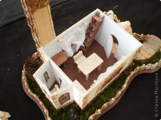 Моделирование: макет домика фото 13