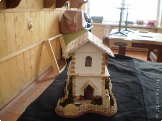 Моделирование: макет домика фото 15