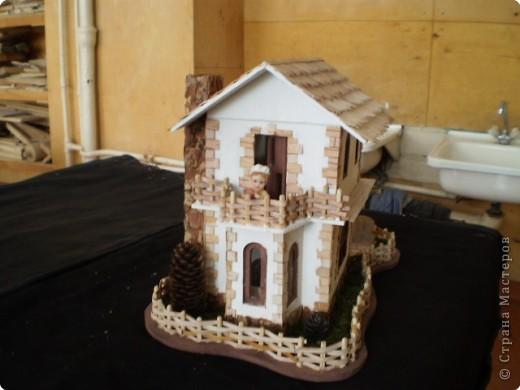 Моделирование: макет домика фото 3