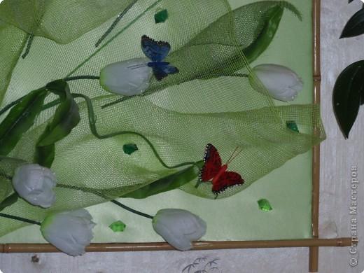 Ассамбляж: Весенние тюльпаны фото 2