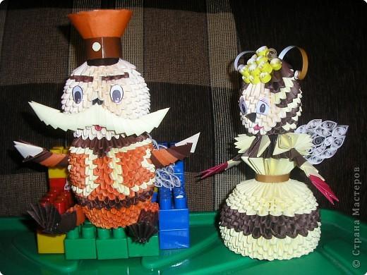 Оригами модульное: Баба Капа фото 2