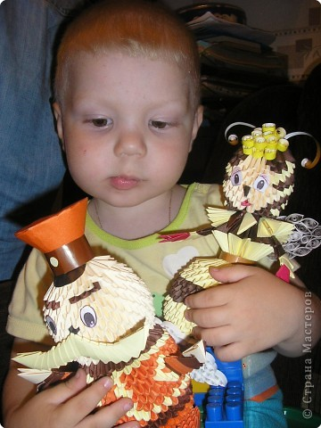 Оригами модульное: Баба Капа фото 3