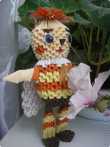 Оригами модульное: Пчеленок фото 2