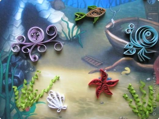 Квиллинг: На дне морском фото 2