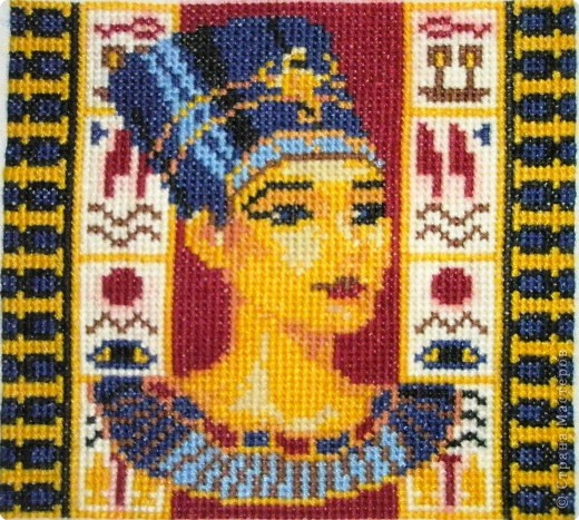 Вышивка крестом: Египетские мотивы фото 2