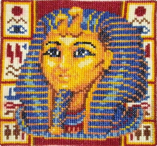 Вышивка крестом: Египетские мотивы фото 1