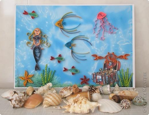 Квиллинг: В подводном царстве фото 1
