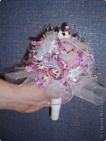 Букет из конфет фото 1