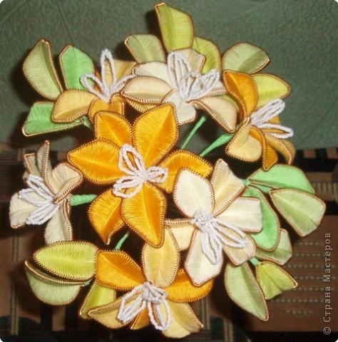 Ганутель: Желтые цветы