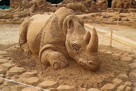 Песчаные скульптуры в Москве