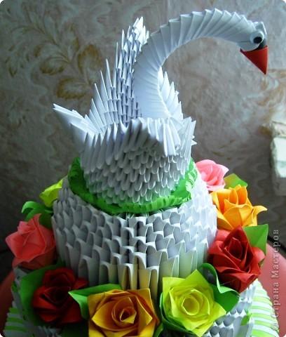 Оригами модульное: подарок к свадьбе